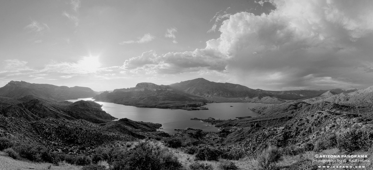 Overlooking Apache Lake