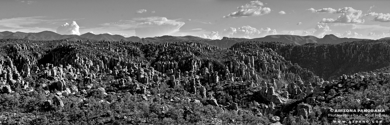 Chiricahua National Monument Panorama