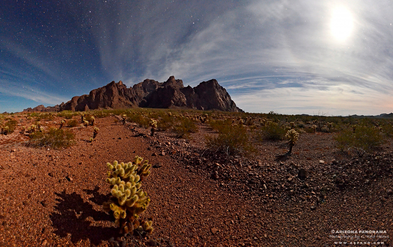 Kofa by Moonlight