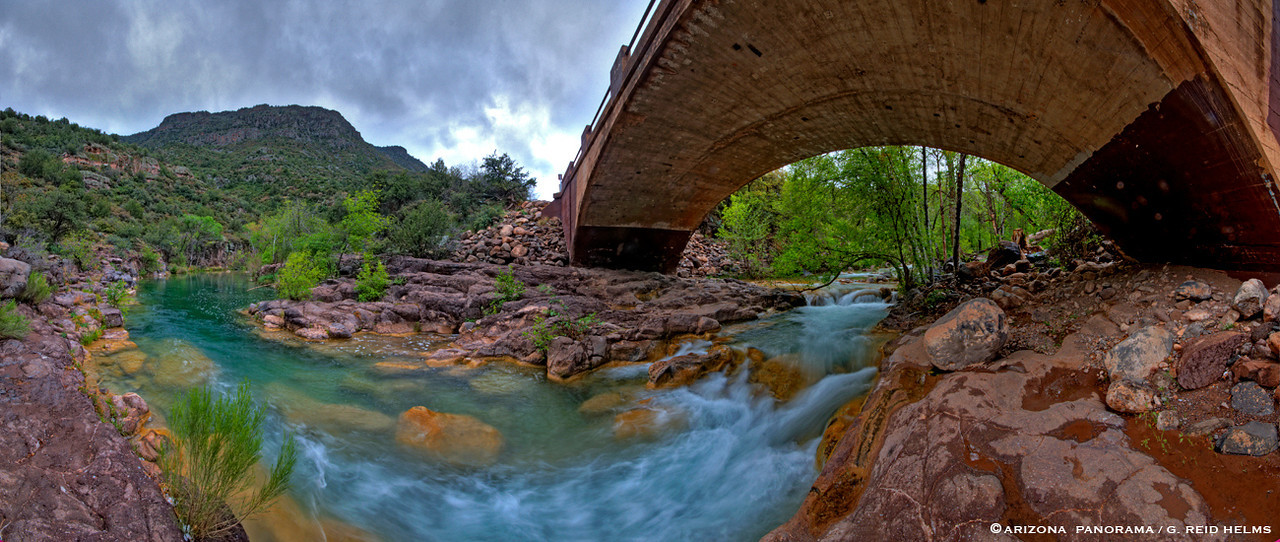 Flowing under the Bridge