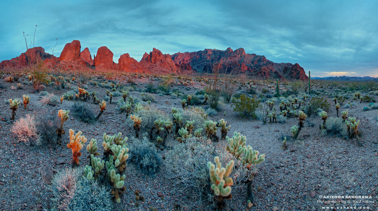 Kofa Mountain Glow