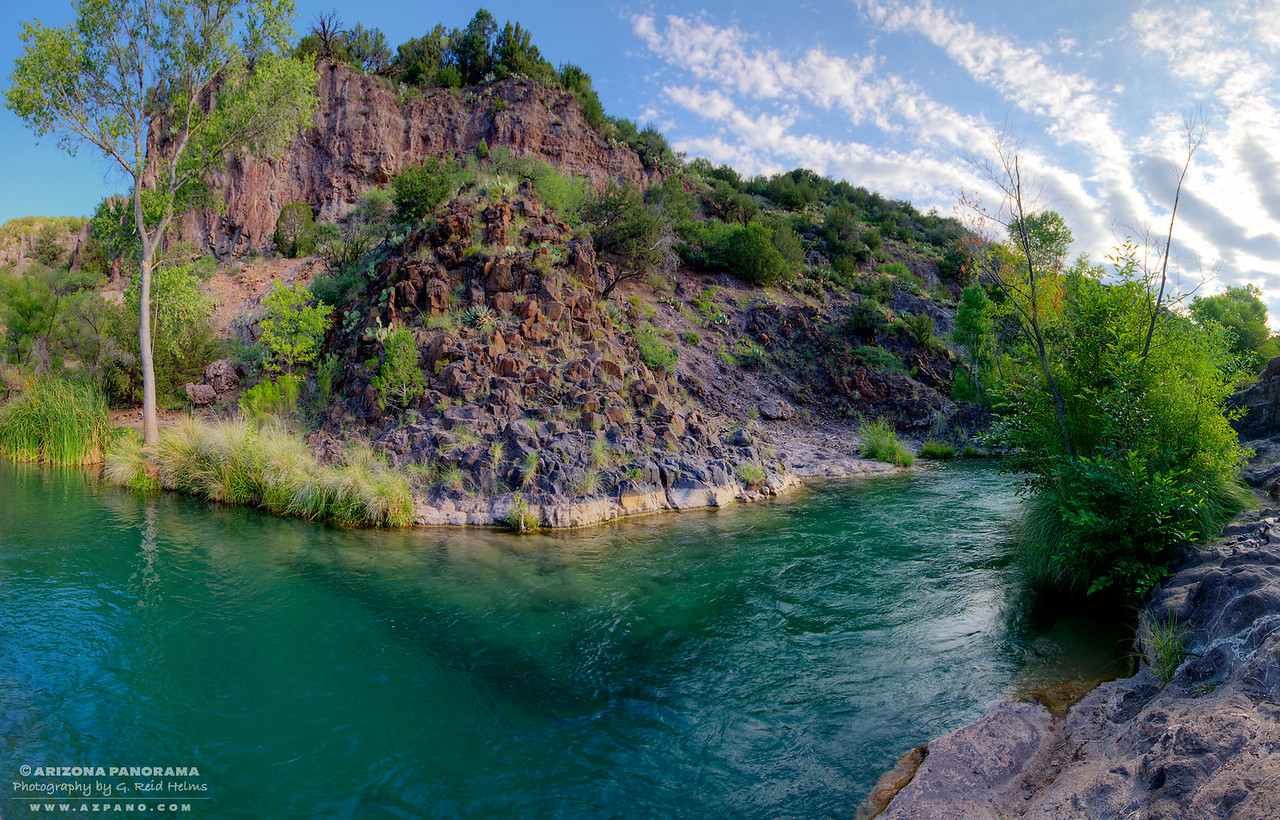 Deep Green Pool, Fossil Creek